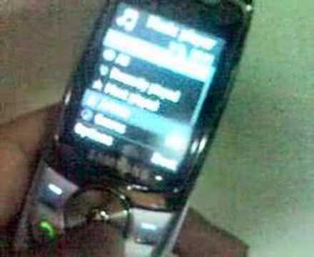 Samsung E740 demo