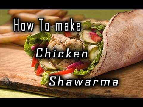 Homemade chicken shawarma recipe spicy shawarma with tahini sauce homemade chicken shawarma recipe spicy shawarma with tahini sauce must try it at home youtube forumfinder Images