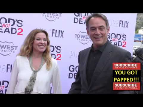 Cady McClain and Jon Lindstrom at the Gods Not Dead 2 Premiere at Directors Guild in West Hollywood