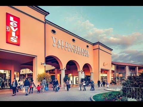 Das schönste Outlet in Italien ᴴᴰ 🏬 👛 🏬 N.6 Valdichiana Outlet Village  ★★★★★