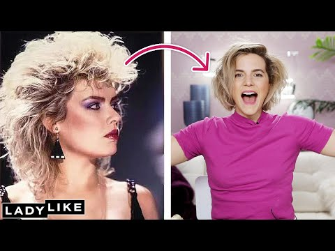 Devin Tries An '80s Hairstyle • Ladylike thumbnail