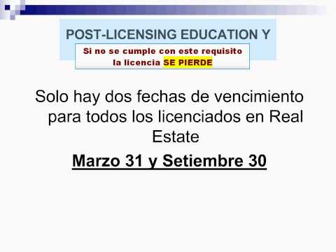 DEMO - Curso Real Estate Sales Associate