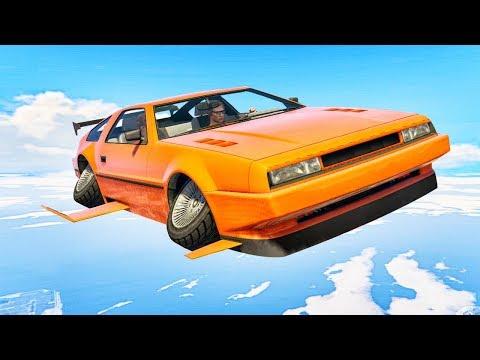 NEW $5,000,000 FLYING CAR! (GTA 5 Doomsday Heist DLC)