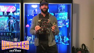 """""""Ghostbusters 2"""" action figures by Diamond Select Toys: WWE Unboxed with Zack Ryder"""