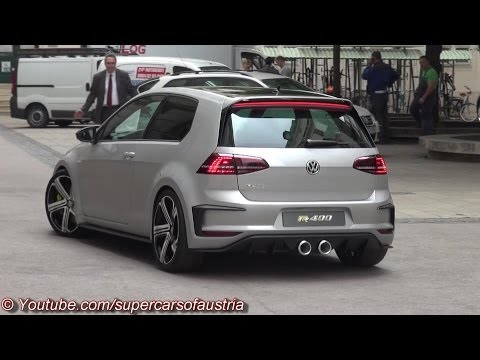 2015 VW Golf R400 - Start Up, Sound and more
