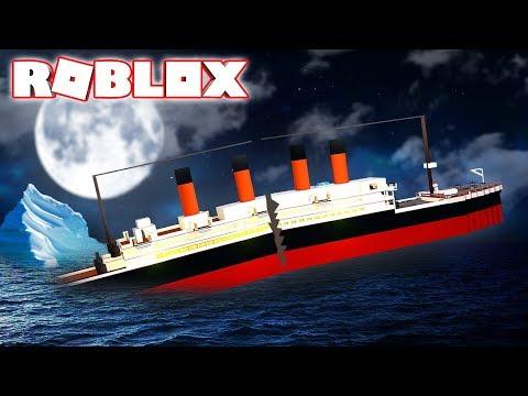 DESTRUIÇÃO DO TITANIC!! (ROBLOX)