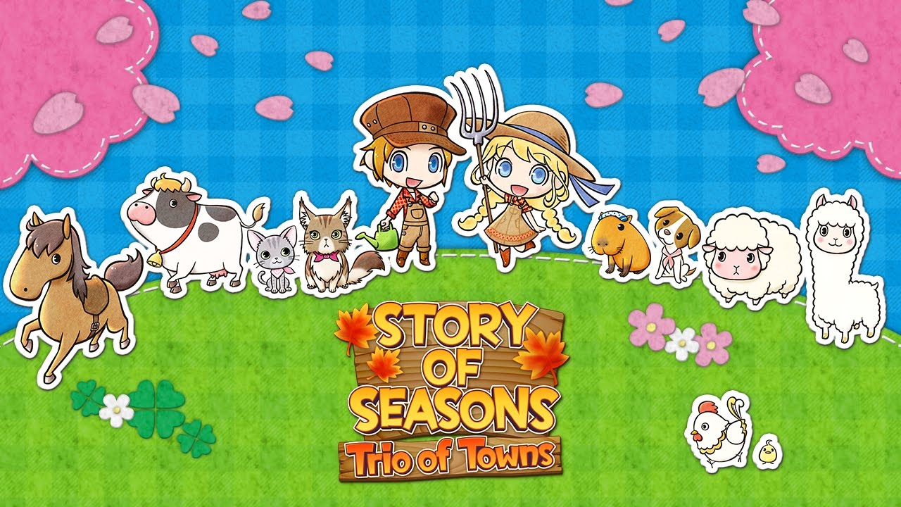 Story of Seasons: Trio of Towns Review -- Never Thought I'd