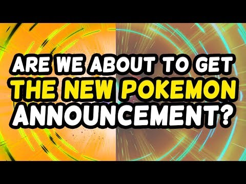Are we about to get the New Pokémon Announcement?