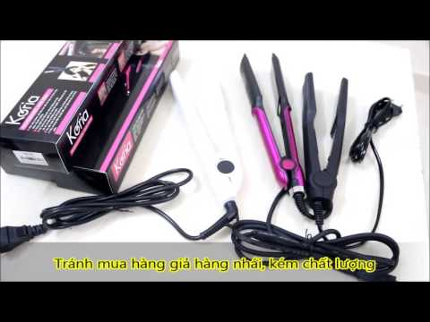 Hướng dẫn mua và sử dụng máy kẹp tóc phù hợp với tóc