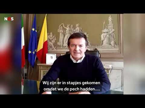 Alcalde Italiano: Premier Rutte a scohe strategia robez pa combati Coronavirus