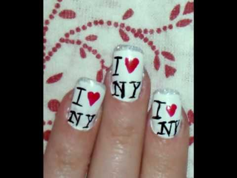 love york nail design