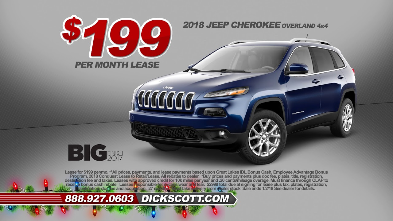 Get Your Best Shot Jeep And Chrysler Deals At Dick Scott
