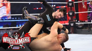 Bad Bunny & Damian Priest show out at WrestleMania: WrestleMania 37- Night 1 (WWE Network Exclusive)