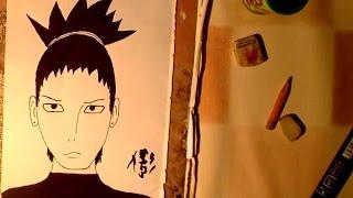 Nara Shikamaru - Naruto Speed Draw
