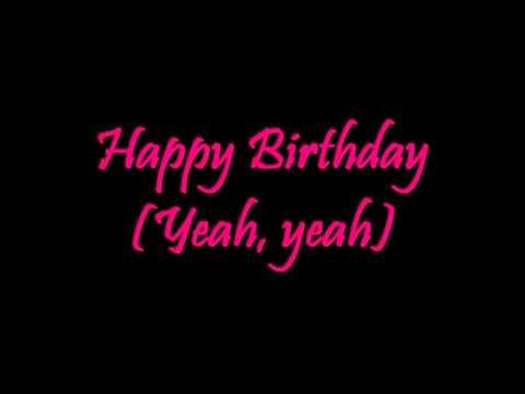 Happy birthday song under 1 minute