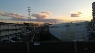 【車窓風景/60fps】東京メトロ副都心線 和光市~地下鉄成増(地上区間のみ) 側面展望(右側)