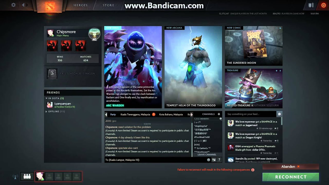 dota 2 screen stuck after accept match also cant spectate game