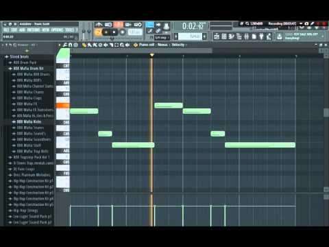 Travis Scott - Antidote Remake FL Studio 12