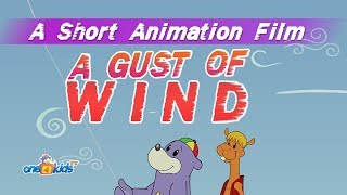 A Gust of Wind -  Islamic Cartoon For Kids with Zaky