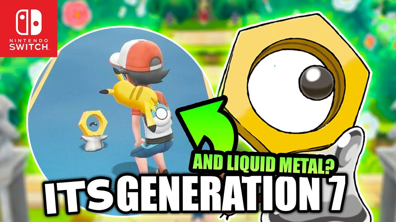 New Pokemon MELTAN & EVERYTHING WE KNOW! IT ABSORBS METAL And Is in Pokemon  Let's GO Pikachu & Eevee