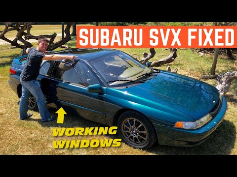 Fixing EVERY Issue On My Aircraft Inspired Subaru SVX In One NIGHT