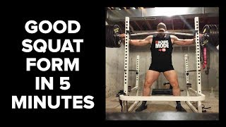 Teaching the Squat in 5 Minutes?