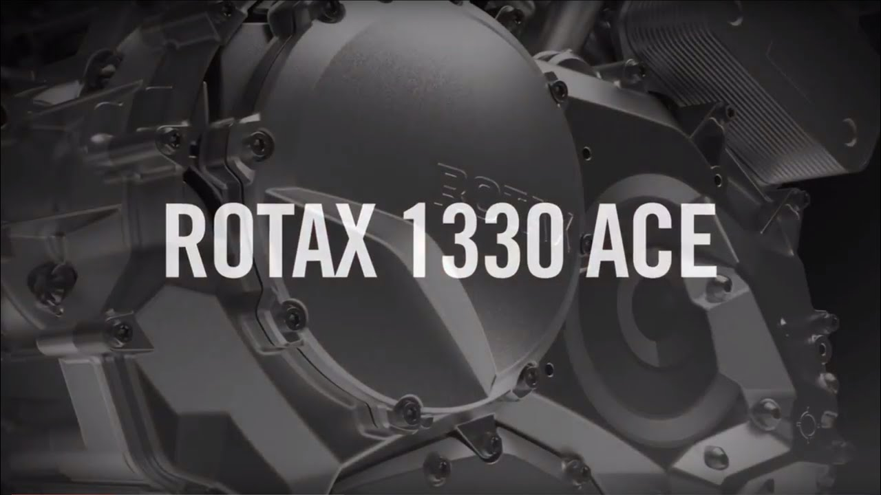 2015 Can Am >> Can-Am Spyder - Rotax 1330 ACE engine - YouTube