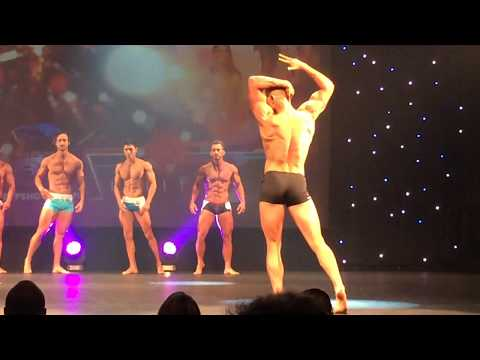 WBFF AUSTRALIA 2015 AMATEUR FITNESS MODEL STAGE FOOTAGE