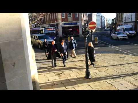 US ambassador to the UK visits Northampton