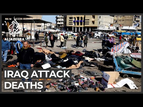 Deadly twin suicide attack hits central Baghdad