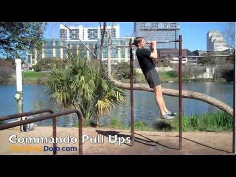 Commando Pull Ups   Workout Dojo