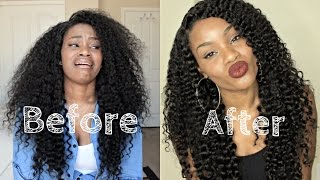 Restoring Your  Wigs To New | Curly Wash Routine | DYHair777.com