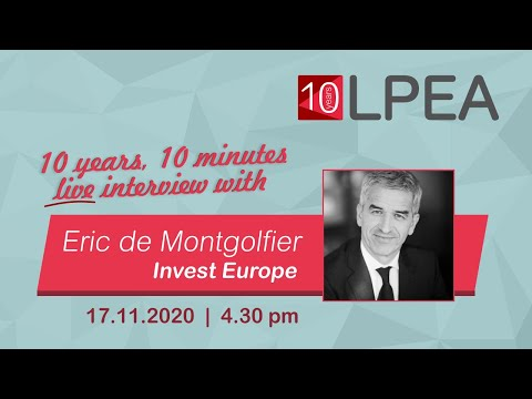 10 years 10 minutes with Eric de Montgolfier from Invest Europe