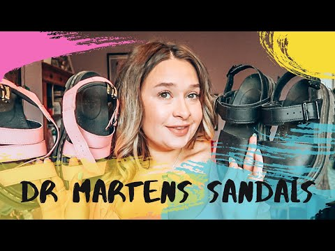 ANSWERING FAQ'S ABOUT MY DR MARTENS SANDALS!!