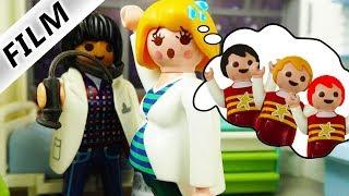 Playmobil Film Deutsch - TRAUM VON DRILLINGEN WIRD WAHR! MAMA CLAUDIA IST SCHWANGER! Familie Vogel