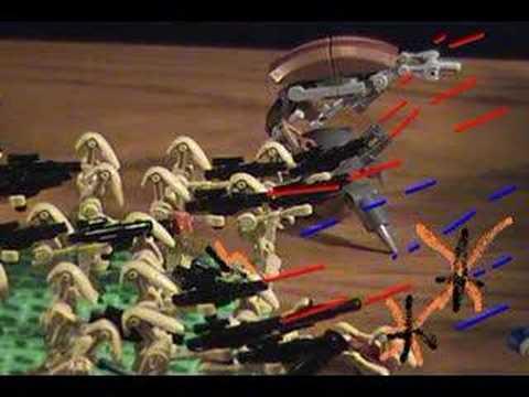 Lego Clone Wars 501st Legion: the Siege (OLD VID)