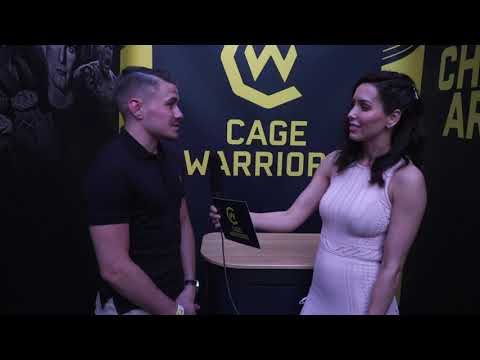 Interview with UFC prospect Nathaniel Wood at Cage Warriors 106