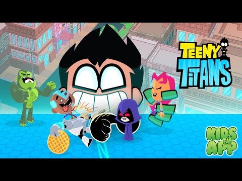 Teeny Titans – A Teen Titans Go! Figure Battling Game (Cartoon Network)