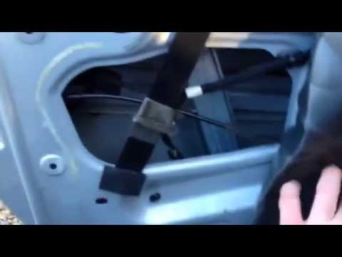 Peugeot 307 Cabriolet Electric Window Fix Youtube