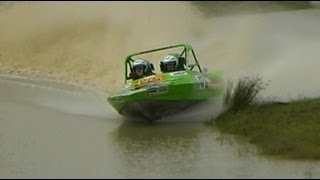 Extreme Jet sprint racing. Small boats, huge motors!