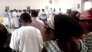 """""""Mimo Olodumare,"""" a Yoruba song sung by NAMISEM students in Abuja."""