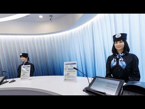 Charlie Parker - Japan Robot Hotel Fires Robot Workers