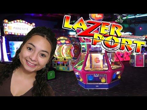 Lazerport Arcade Fun!