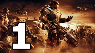 Gears Of War 2 Walkthrough Part 1 - No Commentary Playthrough (Xbox 360)