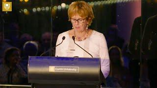 Gloria Sutherland | Curtin Alumni Achievement Awards 2018