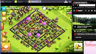 Copy of LIVE Replay War Clash Of Clans! The Best Attack Strategy For Clan Wars 3 Stars!!