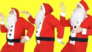 A Ram Sam Sam Song   Dance Kids Songs   Santa Pretend Play with Elves by Olivia Kids Tube