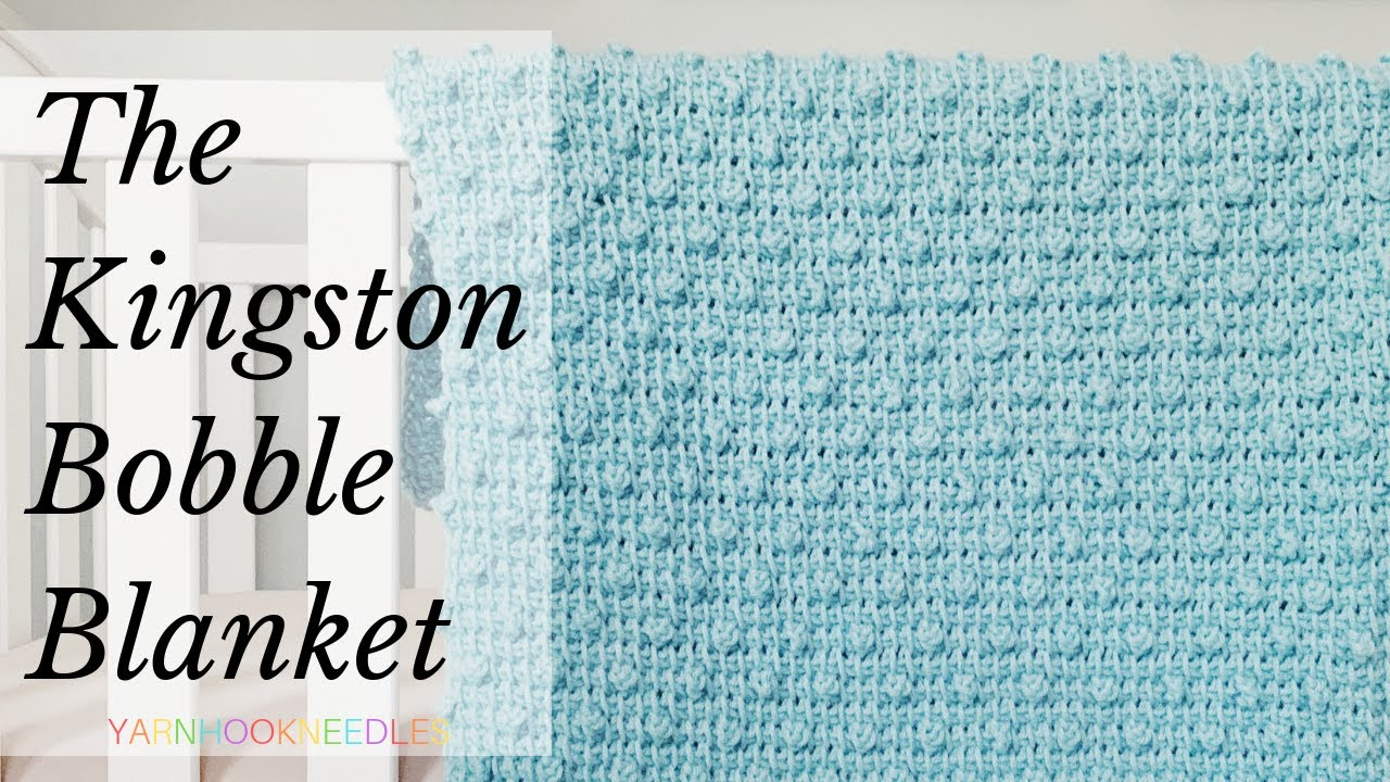 3819 Mb How To Tunisian Crochet A Baby Blanket With The Bobble