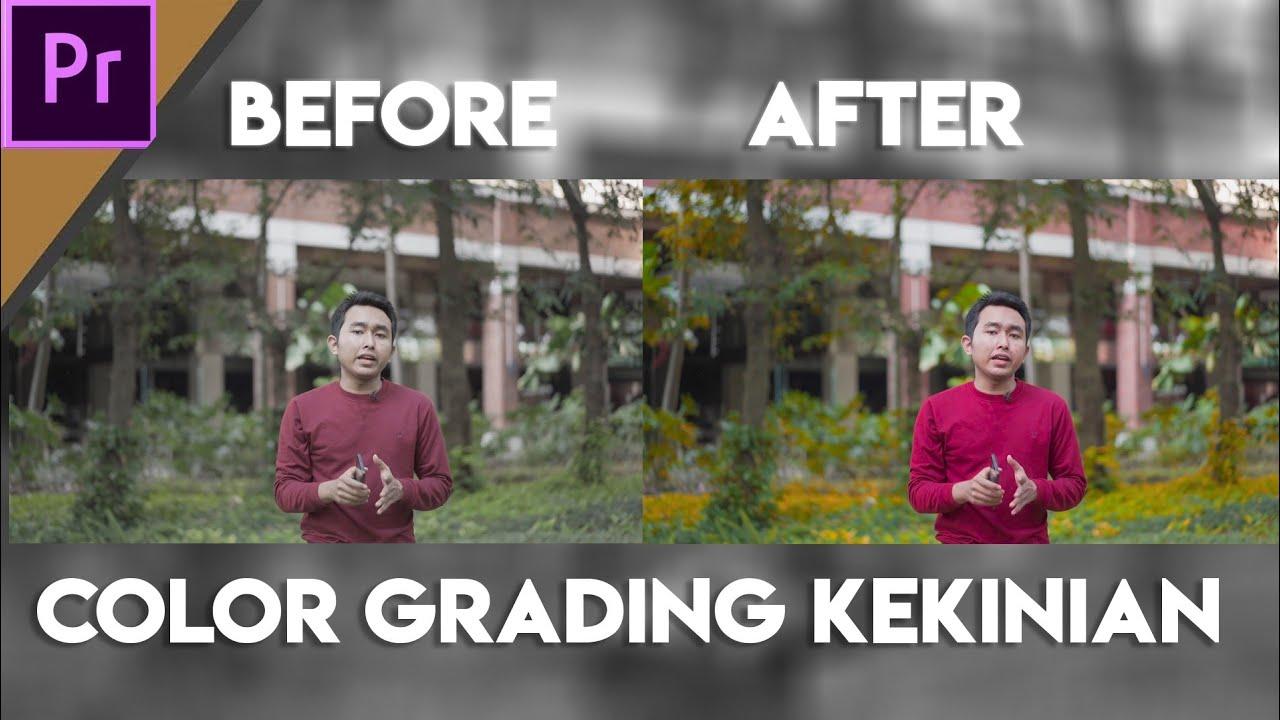 Cara color grading kekinian lebih mudah di Adobe Premiere Pro cc 2019 – Linear Curve Lumetri Color