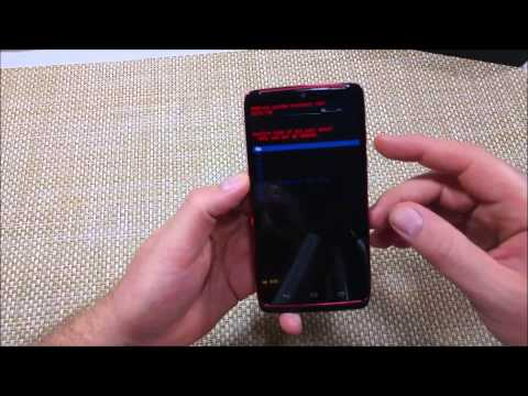 Motorola Droid Turbo How to Hard Reset Factory Data Reset thru System Recovery
